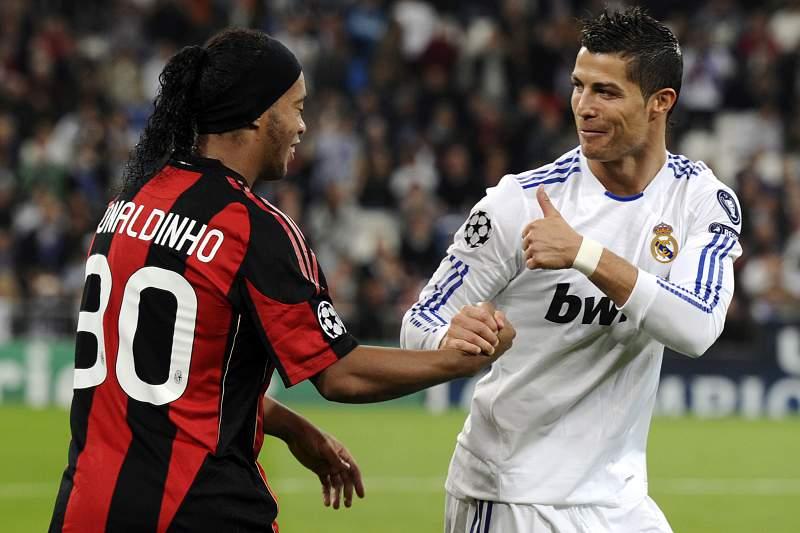 Ronaldinho Gaúcho publica vídeo com CR7