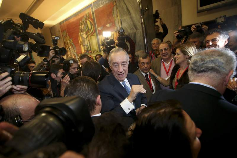 Rebelo wins Portugal's presidential election in first round