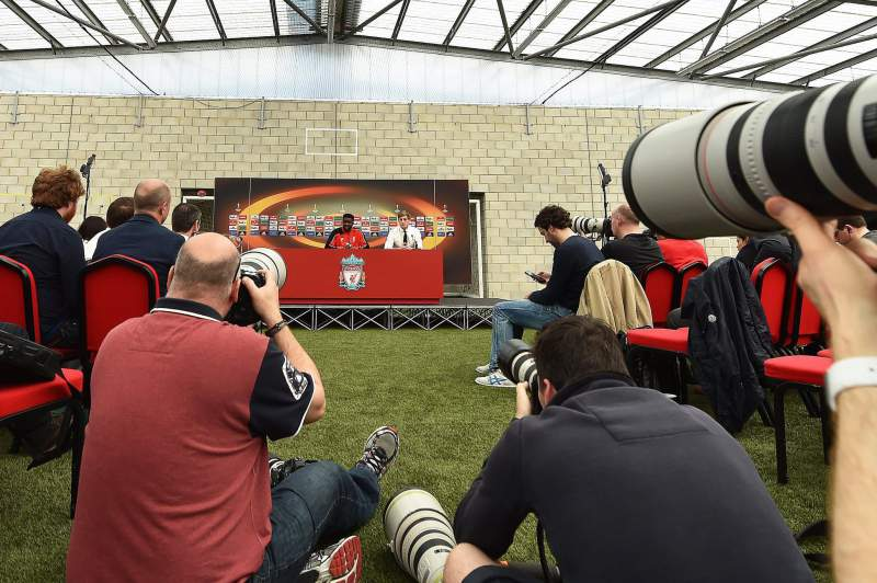 Liverpool FC press conference