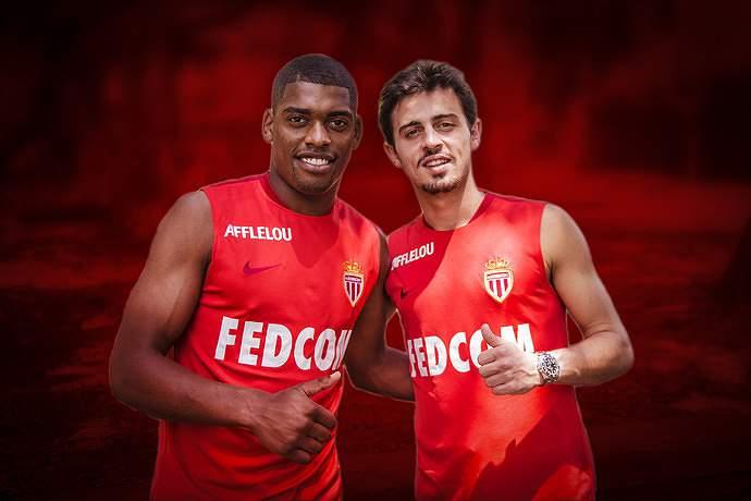 Ivan Cavaleiro e Bernardo Silva