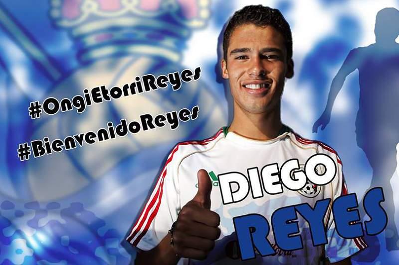 Diego Reyes na Real Sociedad