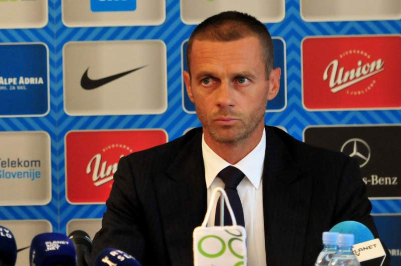 Slovenian Football Association President Aleksander Ceferin