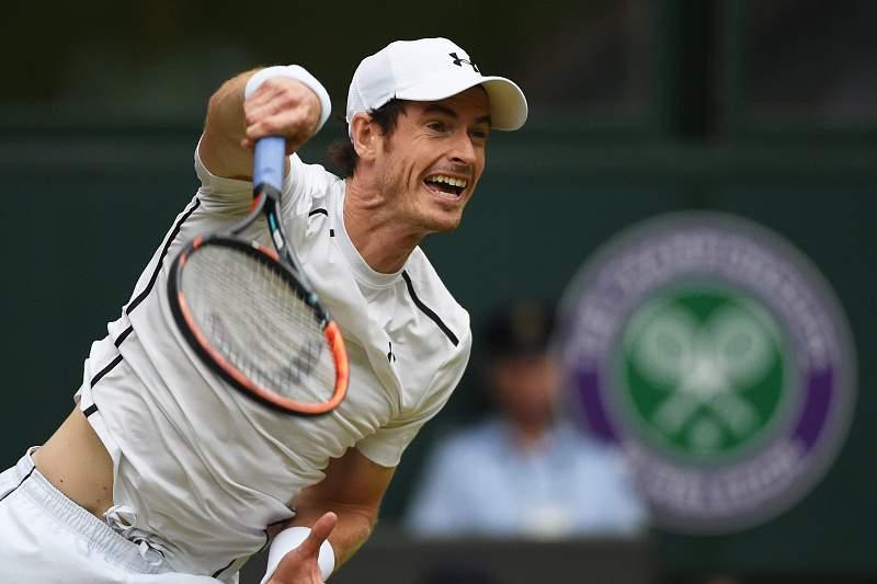 Andy Murray em Wimbledon 2016