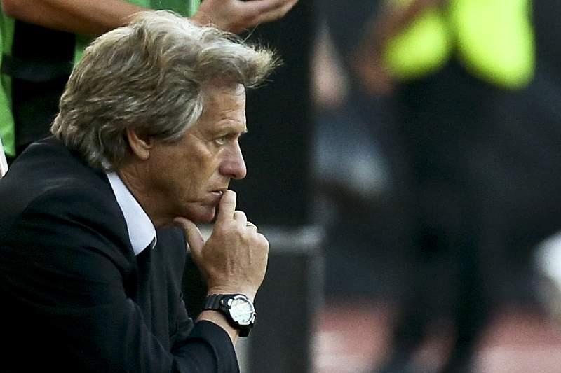 Jorge Jesus, treinador do Sporting