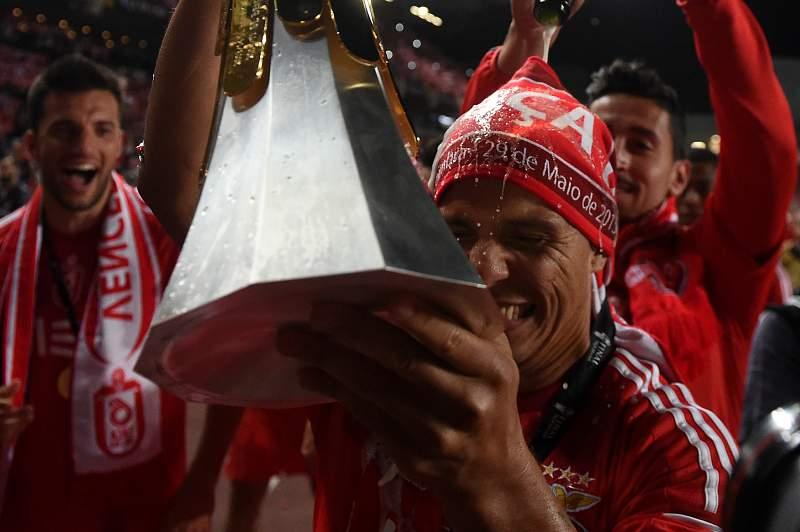 Benfica festeja a sexta Taça da Liga