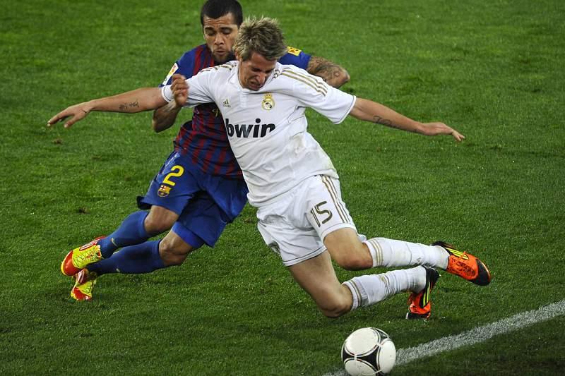 Fábio Coentrão no Real Madrid