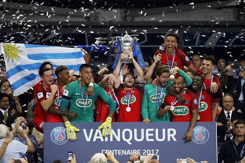 PSG bate Angers e vence Taça de França