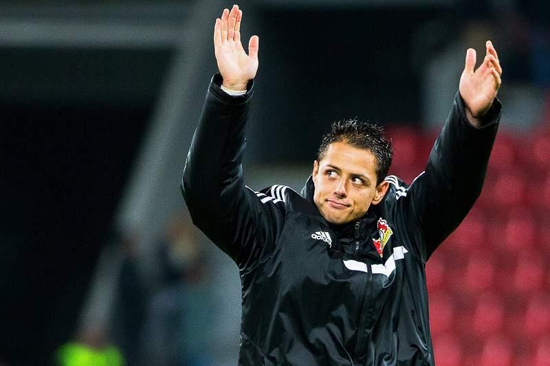 Javier Hernández marcou mas evitou derrota do Leverkusen