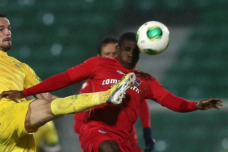 Thomas Agyiri em ação pelo Gil Vicente
