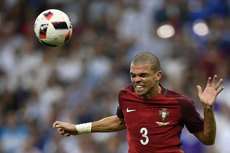 Pepe eleito o melhor em campo
