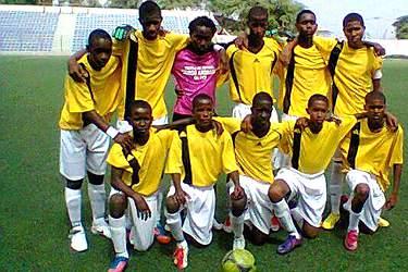 Equipa do Bola Pa Frente em Sub-17