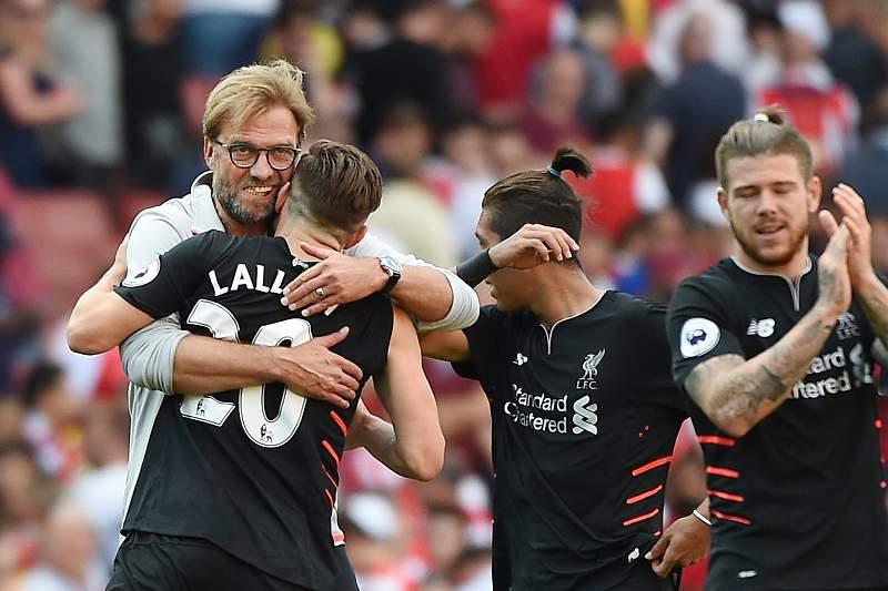 Liverpool vence Arsenal em jogo louco