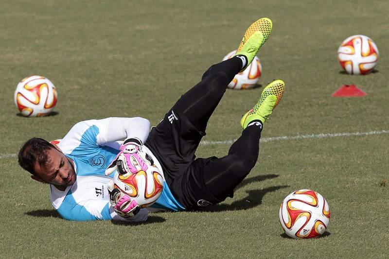 Sevilla FC training