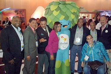 Comité Paralímpico de Cabo Verde está no Brasil