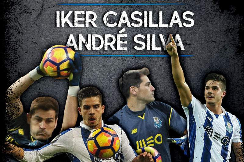 Casillas e André Silva