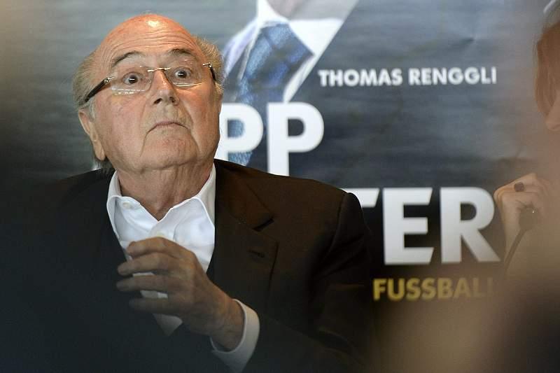 Sepp Blatter book presentation
