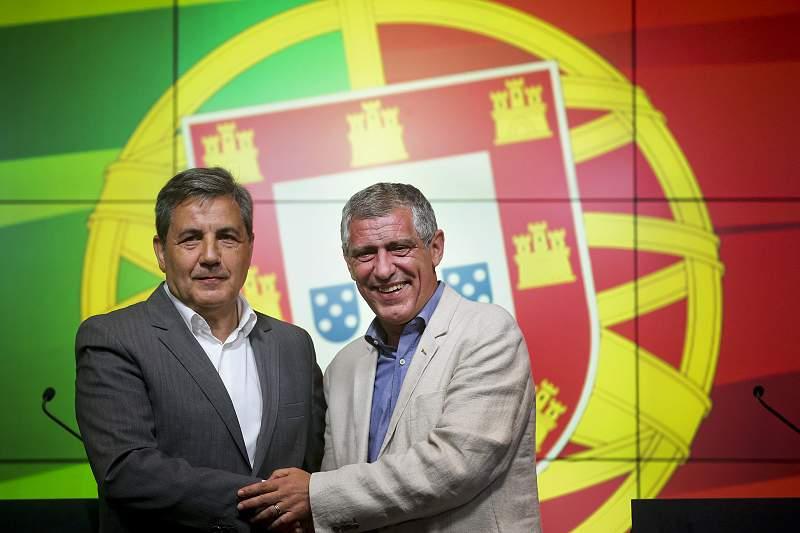 Fernando Santos e Fernando Gomes