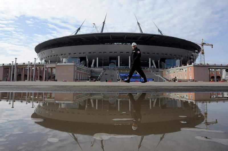 Atraso no novo estádio do Zenit pode afetá-lo como palco do Mundial