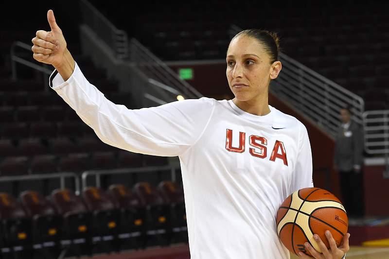 Diana Taurasi, jogadora de basquetebol