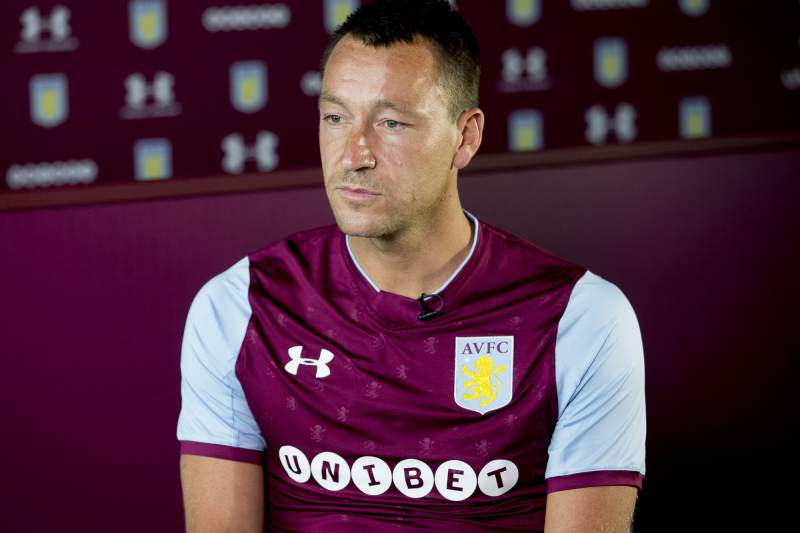 John Terry confirmado no Aston Villa