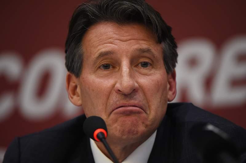Sebastian Coe, presidente da IAAF
