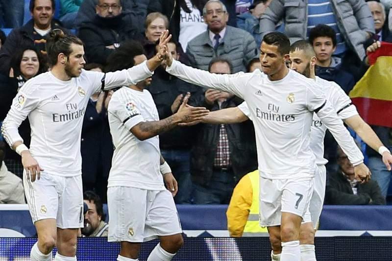 Ronaldo e Bale