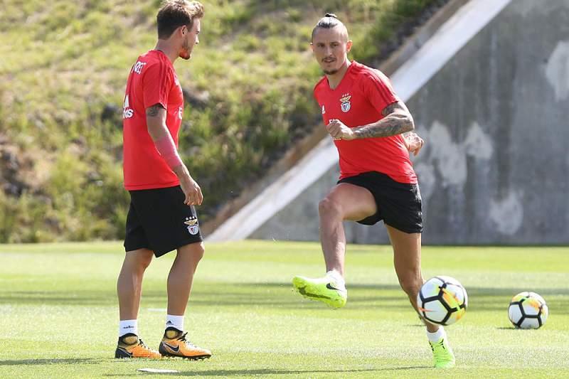 Fejsa já integrou os treinos do Benfica