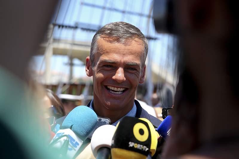 Rio2016: cerimónia da partida do Navio Escola Sagres para os Jogos Olímpicos