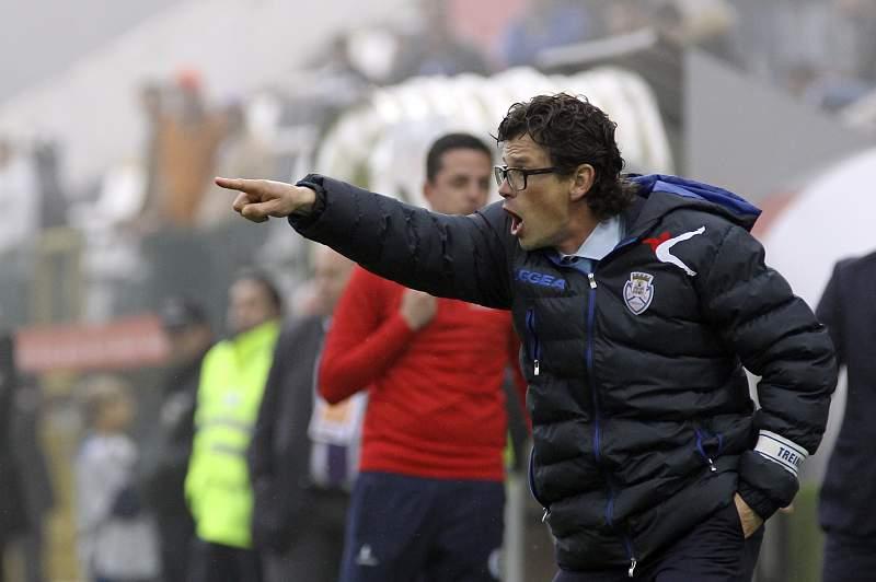 Nuno Manta Santos, treinador do Feirense