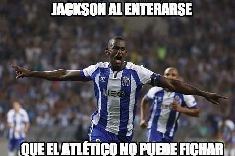 Memes da sanção a Real Madrid e Atlético Madrid