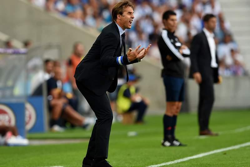 Julen Lopetegui criticou equipa de arbitragem no jogo contra o Estoril-Praia