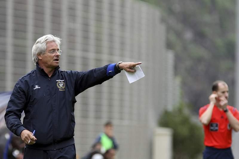 O treinador do União da Madeira Luís Norton de Matos