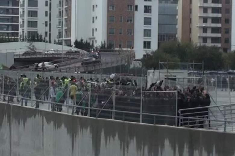Adeptos do Sporting no estádio da Luz.