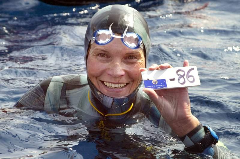 Natalia Molchanova terá morrido num mergulho
