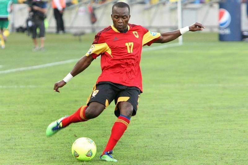 Mateus Galiano ao serviço da seleção angolana