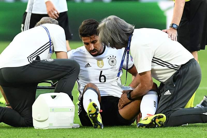 Sami Khedira falha meia-final com a França