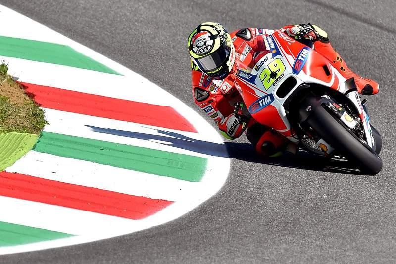 Andrea Iannone, piloto da Ducati