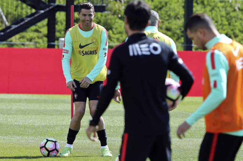 Futebol: Estágio da seleção portuguesa