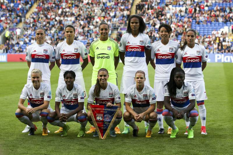 Equipa feminina do Lyon