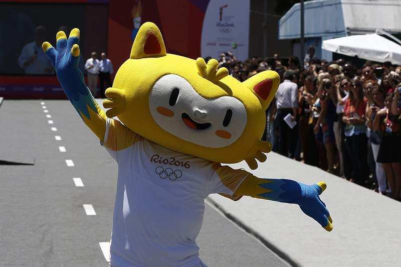 Vinicius, a mascote dos Jogos Olímpicos do Rio 2016