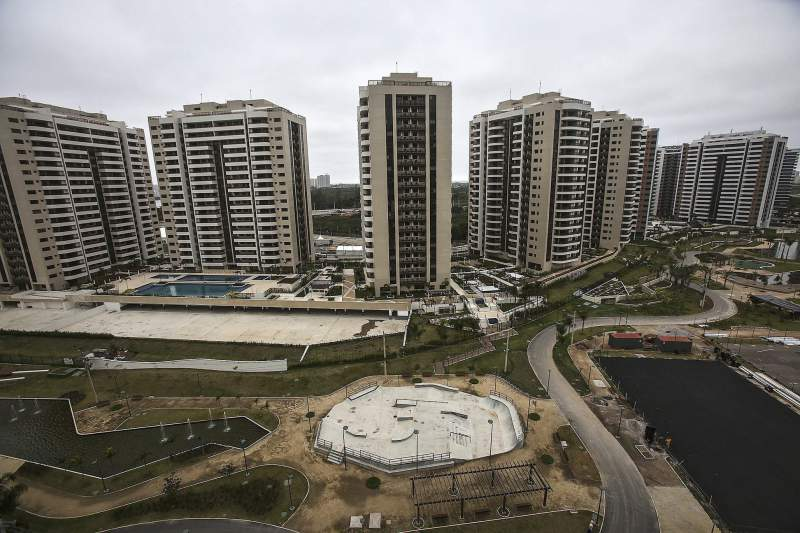 Olympic Village in Rio presented to media