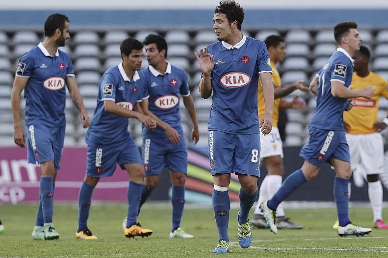 Bakic celebra um golo contra o Estoril-Praia