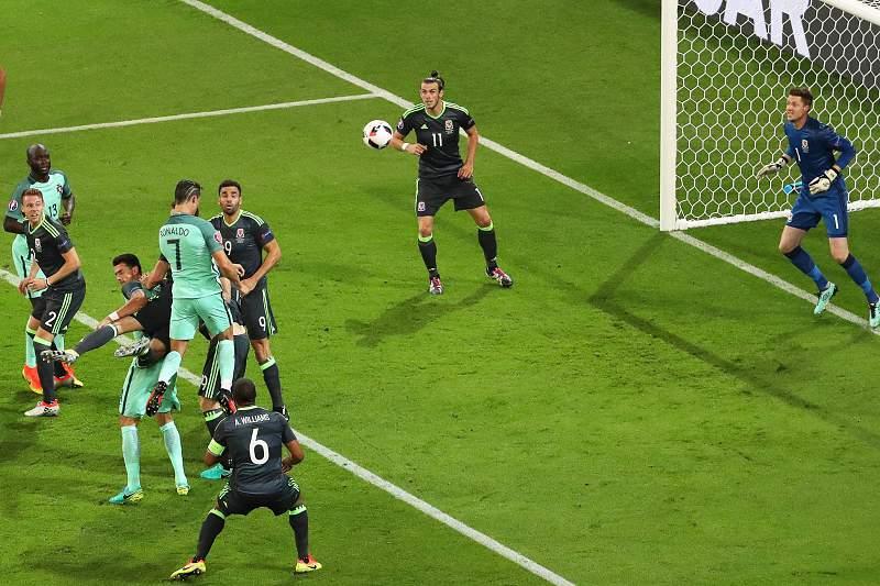 Portugal-País de Gales: Golo de Ronaldo