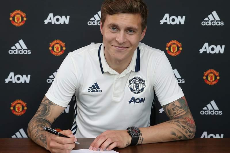 Lindelof oficial no Manchester United