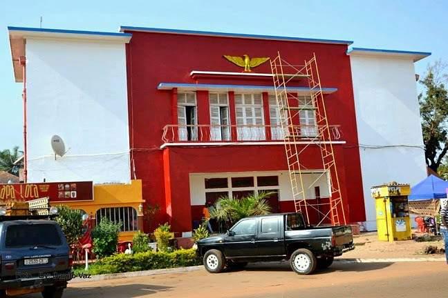 Benfica na Guiná Bissau
