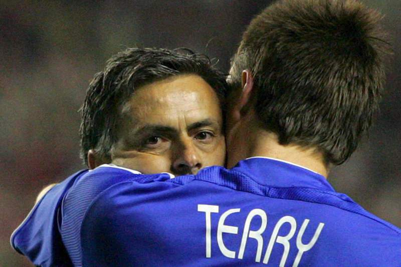 Mourinho e John Terry