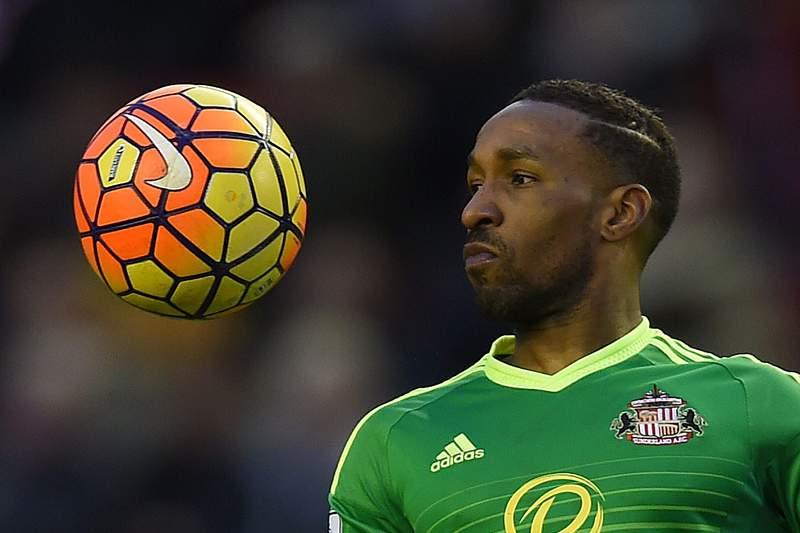 Jermain Defoe ao serviço do Sunderland