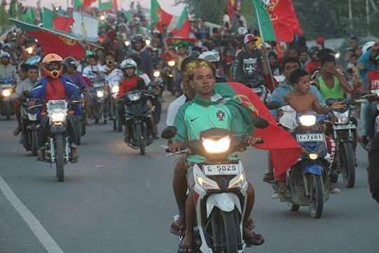 Timorenses acompanharam com emoção a conquista do título europeu de Portugal