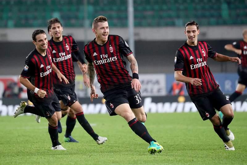 AC Milan festa