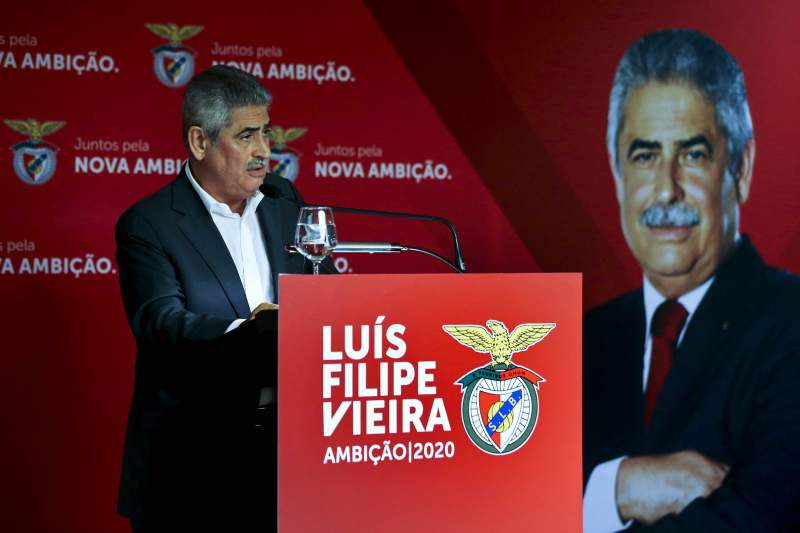 Jantar da recandidatura de Luís Filipe Vieira à presidência do Benfica